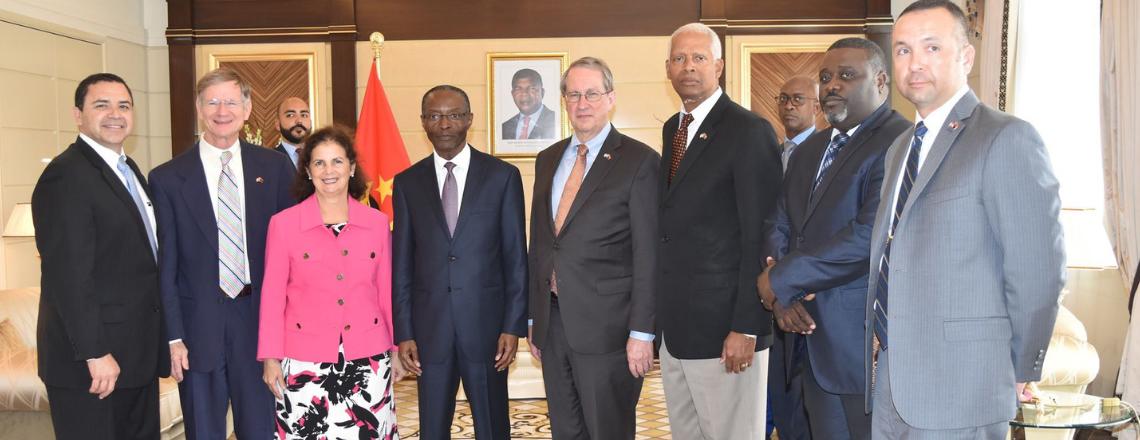 Delegação de congressistas  visitou Angola