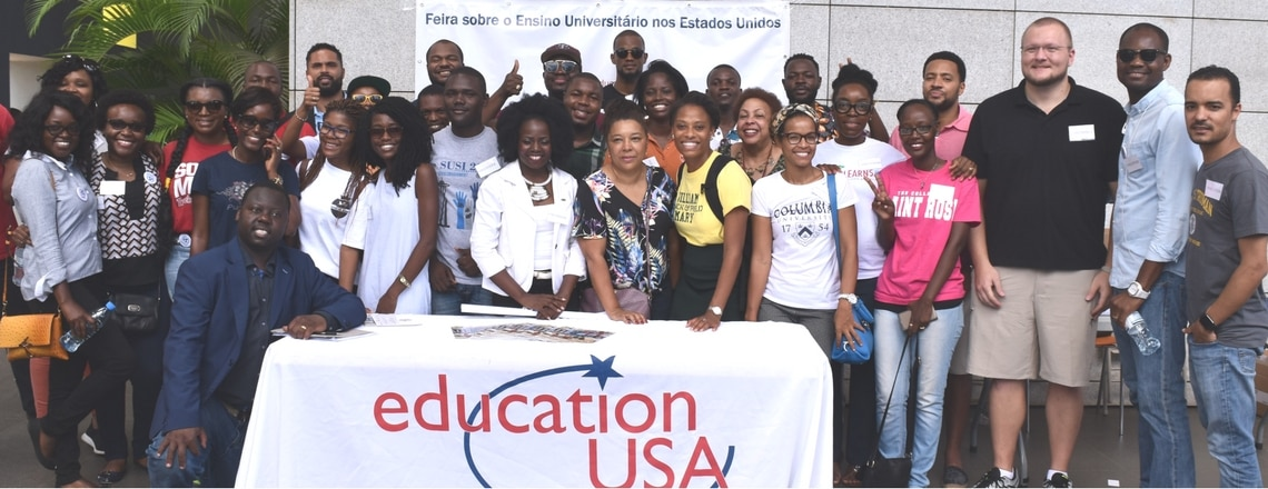 The U.S.A Embassy in Angola Organized the Third Edition of College Fair.